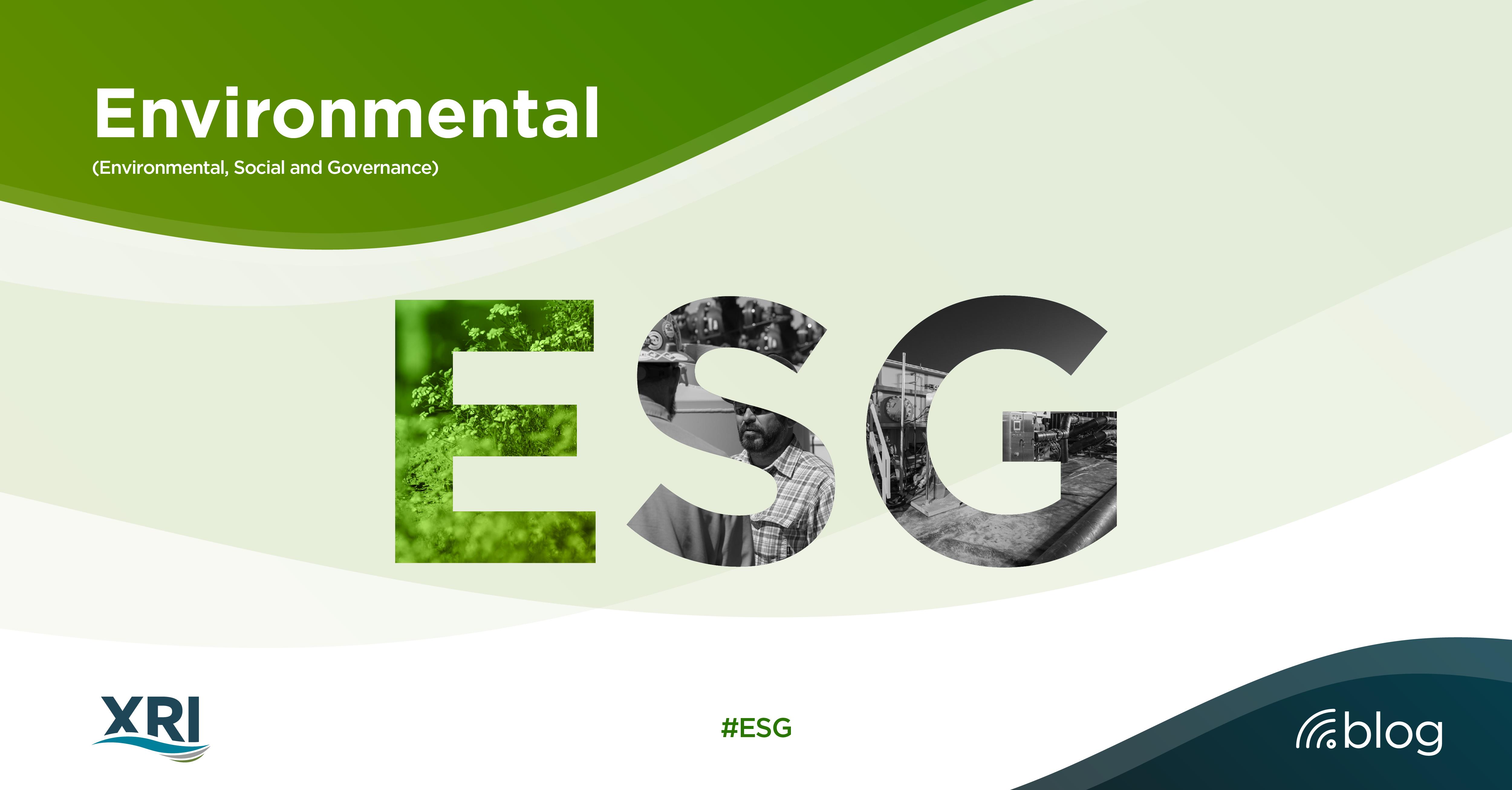 ESG: Environmental